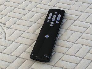 Télécommande sans fil rétro-éclairé avec mémorisations de positions