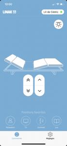 Application relevage tête et pied
